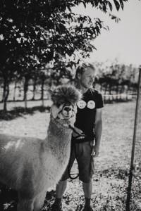 Stefan und Alpaka