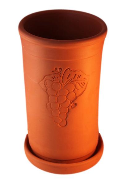 Terracotta Weinkühler