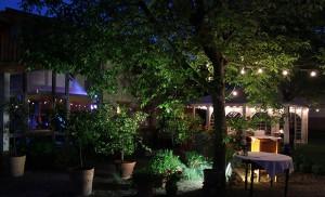 Feiergelände im Weingutsgarten
