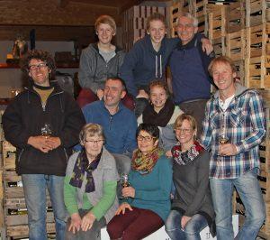 Familie und Helferlein